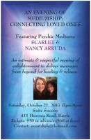 Evening of Mediumship: Connecting Loved Ones