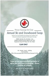 Alpine Ski Swap Nov 3/4