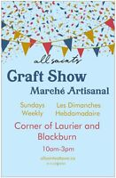 allsaints Weekly Craft Show: Artisan vendors wanted
