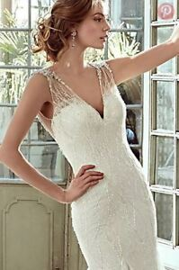 Gorgeous Couture Inspired Wedding Gown For Bride On A Budget