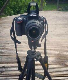 Nikon D5200 DLSR Camera