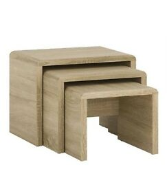Small nest of tables RRP£70