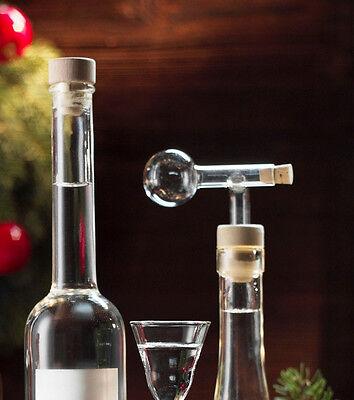 2er- Set Schnapsspender (2 cl) Echtglas, Dosierer, Glasportionierer, Ausgießer  online kaufen