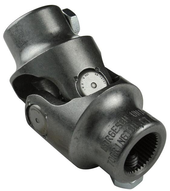 SJU SJU001 3//4 DD x 1 DD Single Black Universal Steering Shaft U Joint Hotrod Streetrod New