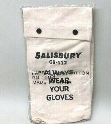 Salisbury Gb-112 Lineman Gloves Canvas Bag Holder