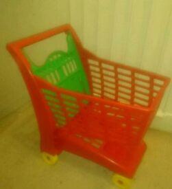 Kids toy trolley