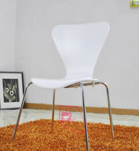 White Bent Wood Chair