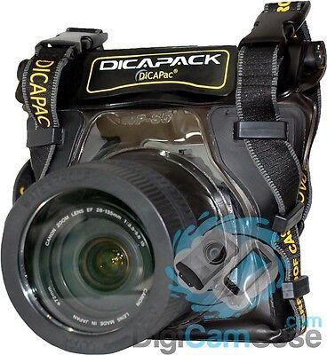 # DiCAPac WP-S5 Wasserdichtes Schutzcase für kleine DSLR wie Nikon D40/ D3300