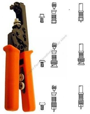 Compression Rg659 Crimpercrimping Tool For Waterproof Bncrcatv F Endsshdisc