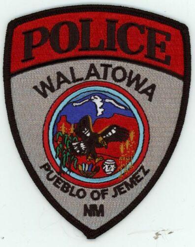 WALATOWA POLICE NEW MEXICO NM NEW SHOULDER PATCH SHERIFF