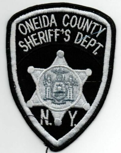 NEW YORK ONEIDA COUNTY SHERIFF NICE PATCH POLICE