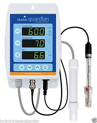 Guardian Usb (Bluelab Guardian Connect PH EC TDS PPM Continuous Read Meter Monitor USB Enabled)
