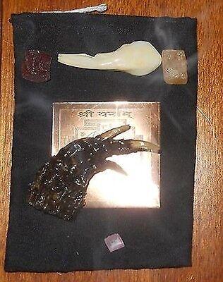 10x Power Dakshina Kali - Extreme Energy Magic Mystic Occult Aghor Amulet