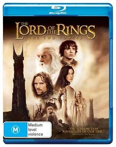Lord of the Rings: Two Towers BD         Blu-Ray Region B