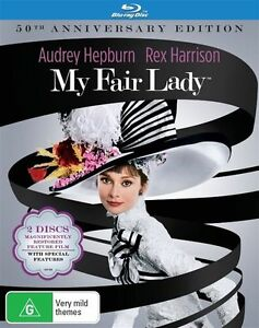 My Fair Lady (Blu-ray, 2016) 50th Anniversary Edition : NEW