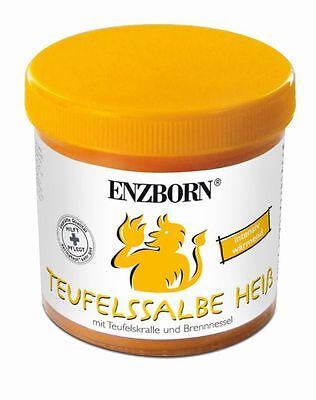 (4,10€/100ml)ENZBORN® Teufelssalbe Heiß 200 ml Pflege-Gel