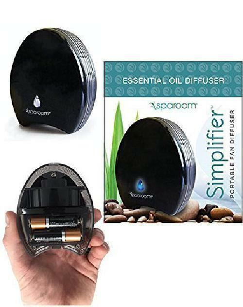 portable diffuser essential oil for travel car battery opera