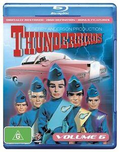 Thunderbirds: Volume 6 NEW B Region Blu Ray