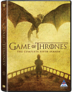 Game of Thrones DVD's