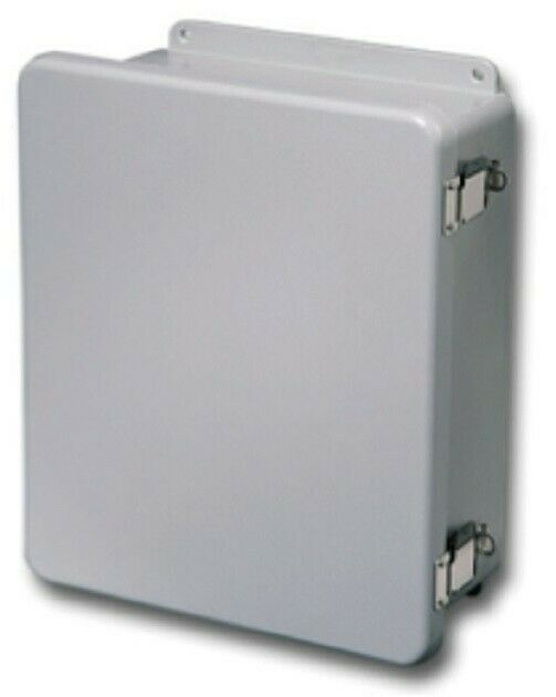 "RITTAL Enclosure JUNCTION BOX FIBERGLASS 16""x14""x6"""