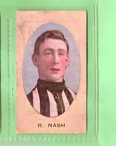 1910-AUSTRALIAN-FOOTBALLERS-CIG-CARD-R-NASH-COLLINGWOOD