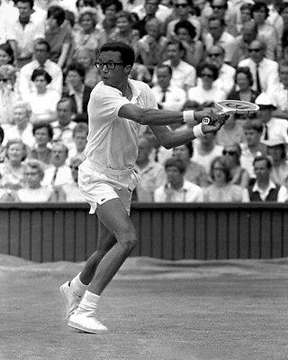 Pro Tennis Player ARTHUR ASHE Glossy 8x10 Photo Print Grand Slam Poster