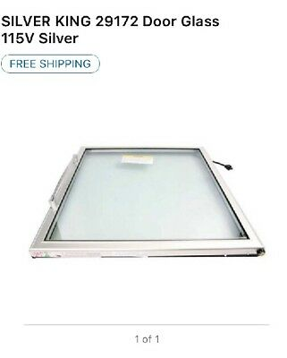 Silver King 29172 Glass Door -oem-