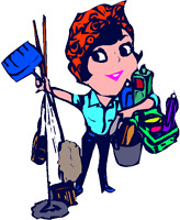 I am looking for work ,Move outs,move in,house keeping,organizer
