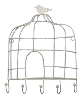 Cream Birdcage 5 Key Hook by Park Designs