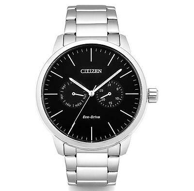 mens citizen watches jewelry watches > shopkorea discover citizen ao9040 52e eco drive black dial silver stainless steel men s watch 44mm