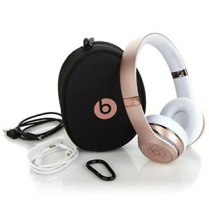 Beats solo 3 wireless rose gold SE