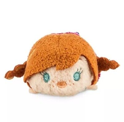 "USA Disney Collection Frozen Anna tsum tsum mini 3 1/2"" plush new with tag US"