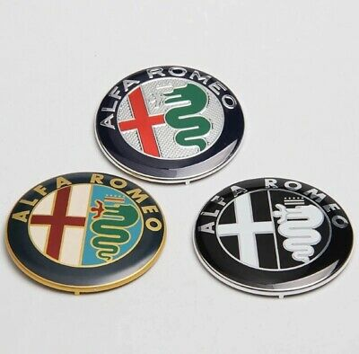 Alfa Romeo NEW RARE OEM VELOCE 60mm Script EMBLEM BADGE logo different original
