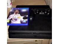 PS4 slim line with fifa 18