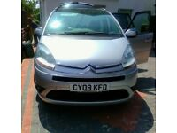 CITROËN C4 GRAND PICASSO 2009 1.6 HDI VTR+ AUTOMATIC DIESEL