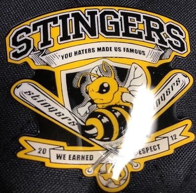 Girls Stinger Softball - Stingers Texas GIRLS  FASTPITCH SOFTBALL PIN BADGE Y4