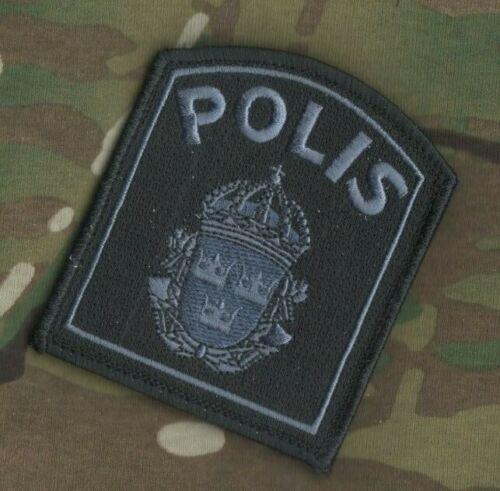 SVERIGE SWEDEN SWEDISH POLISEN POLIS PIKETEN PIKETENHETEN vêlkrö subdued PATCH