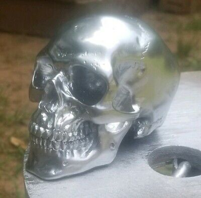 Hood Ornament Skull Semi/Big Trucks Rat Rods Anything!  Chrome or Bronze Custom! - Skull Ornaments