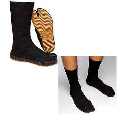 Ninja High Tabi Boots With Ninja Shoes & Socks Cosplay Costume Ninjitsu - Costume With Boots