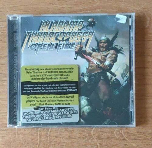 Alabama Thunderpussy - Open Fire (2007) CD neuwertig