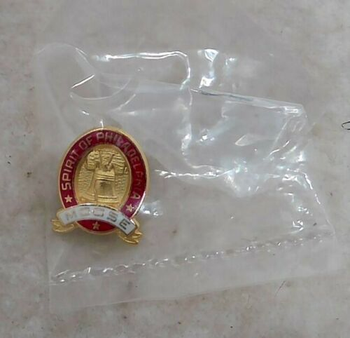 1996 Loyal Order of Moose Membership Campaign Spirit of Philadelphia Lapel Pin