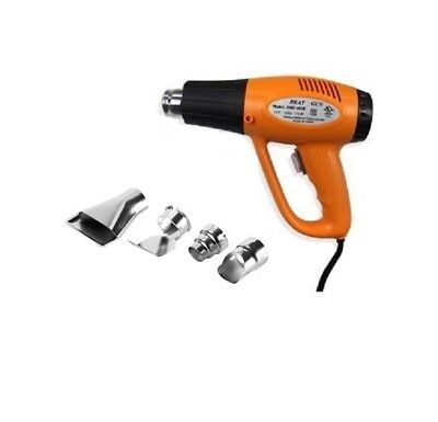1500 Watt Dual Temp Electric Heat Gun, Shrink Wrap Paint Stripper Scraper