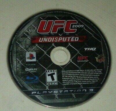UFC Undisputed 2009 (Sony PlayStation 3, 2009) Disc Only Tested comprar usado  Enviando para Brazil