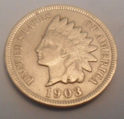 1903 P Indian Head Cent Penny  SDS  **FREE SHIPPING**