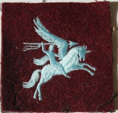 WW2 WWII British Airborne Para Pegasus Patch Single