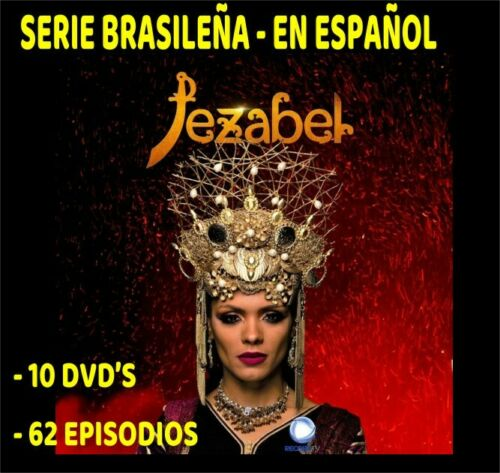 JEZABEL- Serie Brazileña 10 Dvds - Audio Español - VERSION TELEMETRO