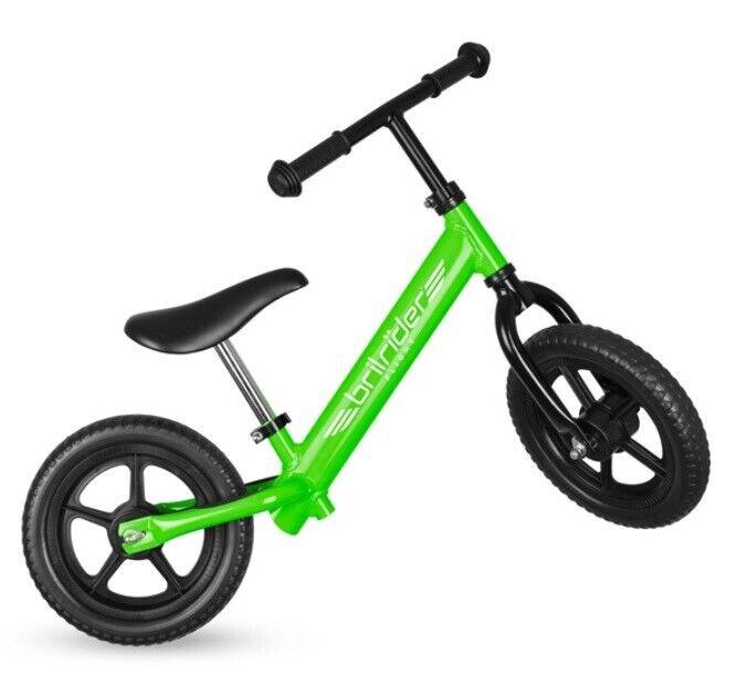 The Lightest Balance Bike In The World Green Brilrider Flight Kids Uk In Tadcaster North Yorkshire Gumtree
