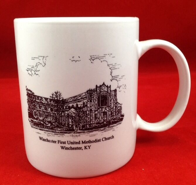 Winchester Kentucky First United Methodist Church Coffee Mug Cup KY