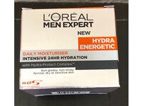 L Oreal men expert daily moisturiser