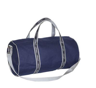 J P Morgan Jpmorgan Chase 17  Original Duffel Banker Bag Navy Gray